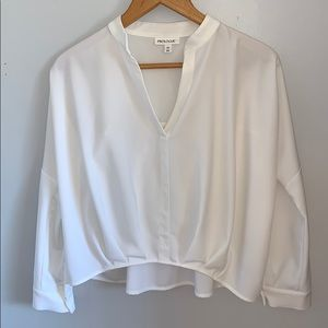 Prologue for Target long sleeve Fashion Top- White